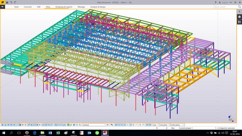 Steel Detailing and Drafting